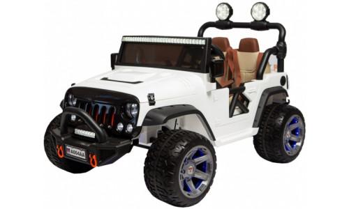 Детский электромобиль Rivertoys Jeep А004АА белый Rivertoys A004AA-WHITE