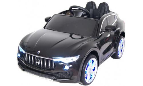 Детский электромобиль Rivertoys Maserati Levante А008АА черный Rivertoys А008АА-MASERATI-BLACK