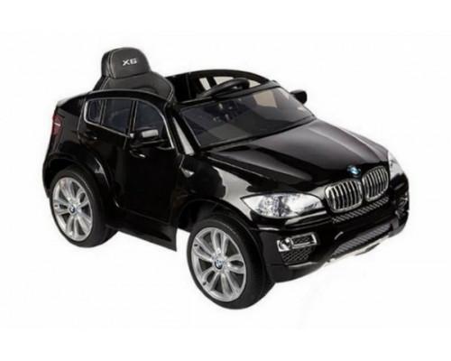 Детский электромобили Rivertoys BMW Х6 (JJ258) черный