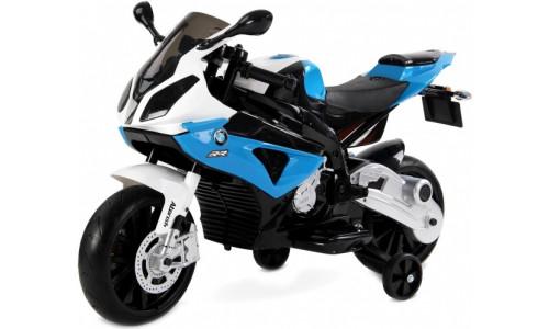 Мотоцикл Rivertoys BMW (JT528) синий Rivertoys BMW-JT528-BLUE