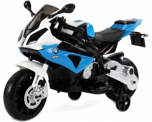 Мотоцикл Rivertoys BMW (JT528) синий