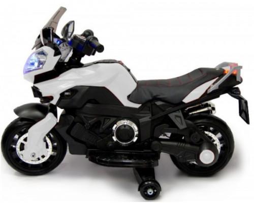 Мотоцикл Rivertoys Е222КХ белый
