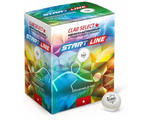 Мяч для настольного тенниса Start Line Club Select 1 New (120 шт.)