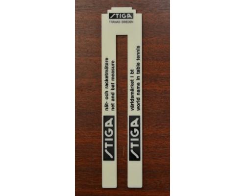 Измеритель высоты сетки теннисного стола Stiga пластиковый