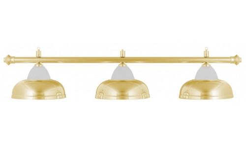 Лампа Weekend Crown золотистая на 3 плафона Weekend 3851